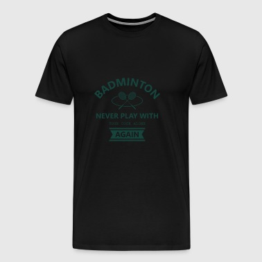 Badminton badminton club club sport racket - Men's Premium T-Shirt