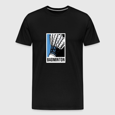 Badminton club bat badminton club sport - Men's Premium T-Shirt