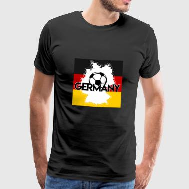 Germany football - Men's Premium T-Shirt