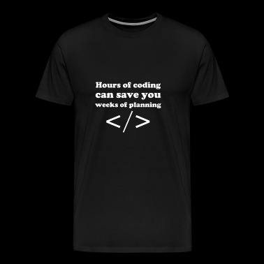 Coding - Men's Premium T-Shirt