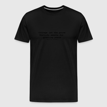 courage - Männer Premium T-Shirt