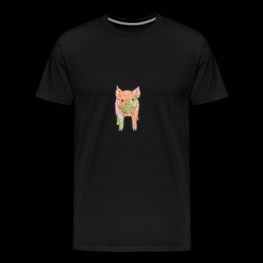 Pig piggy pig lucky pig - Men's Premium T-Shirt