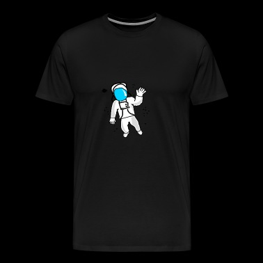 Astronaut, Cosmonaut, Espedition, Rocket - Mannen Premium T-shirt