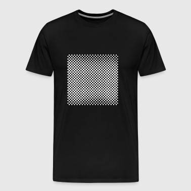 Beautiful chess texture design - Men's Premium T-Shirt