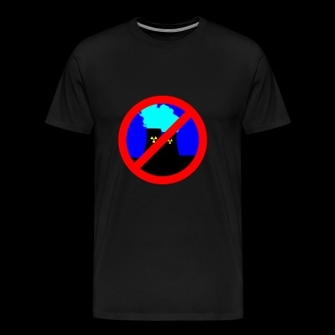 NO atom - Men's Premium T-Shirt