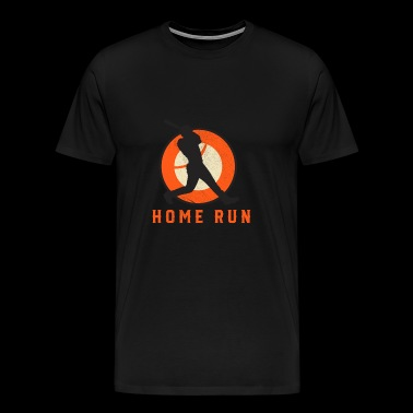 Home Run Baseball - Männer Premium T-Shirt