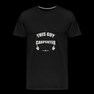 This guy loves carpenter ants wood ant gift - Men's Premium T-Shirt
