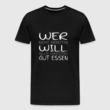 eat well - Men's Premium T-Shirt