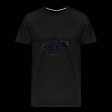blueberries - Men's Premium T-Shirt