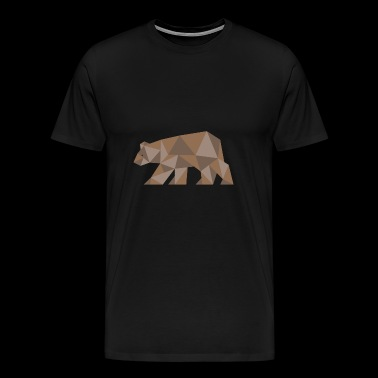 Ours ours Ours brun - T-shirt Premium Homme