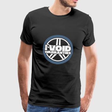 Mechanic: I void garantier. - Premium-T-shirt herr