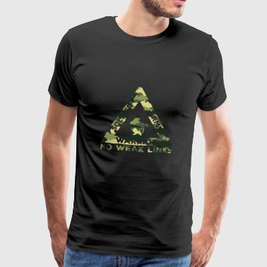 Military / Soldier: Soldier, Army, Warrior. No - Men's Premium T-Shirt