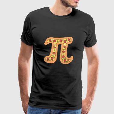 Pizza Pi Funny Visual Math Pun Gift - Men's Premium T-Shirt