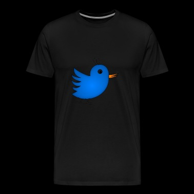 Happy Bird - Mannen Premium T-shirt