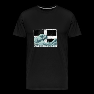 Cornish Chills - Cornwall - Men's Premium T-Shirt