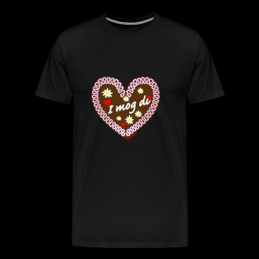 Gingerbread heart I mog di - Men's Premium T-Shirt