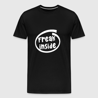 freak inside (1835B) - Men's Premium T-Shirt