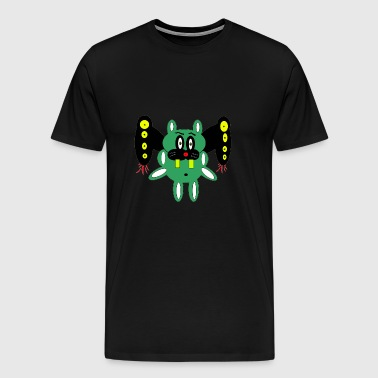 personnage extraterrestre - T-shirt Premium Homme