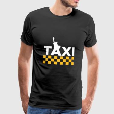 New York Taxi - T-shirt Premium Homme