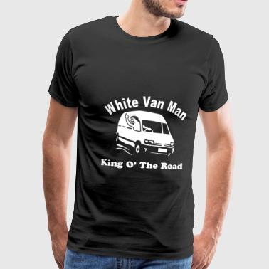 White Van Man For Dark Shirts - Men's Premium T-Shirt
