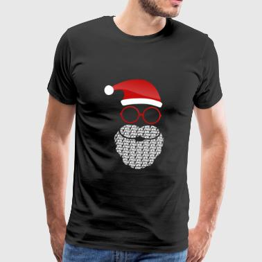 God jul - Premium-T-shirt herr