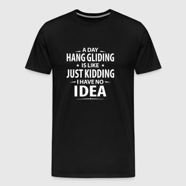 hang-gliding - Men's Premium T-Shirt
