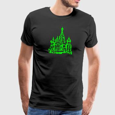 Moscow - or Moscow - Men's Premium T-Shirt
