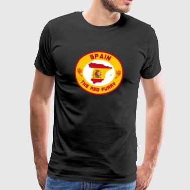 Spain the red rage / gift / gift idea - Men's Premium T-Shirt