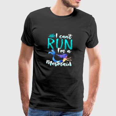 Gift Mermaid Mermaid - Mannen Premium T-shirt
