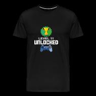 11. Geburtstag Gamer Videogame Computer Geschenk   Männer Premium T Shirt