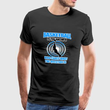 Basketball Gift - Men's Premium T-Shirt