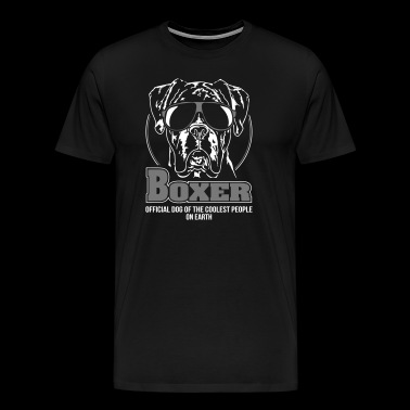 BOXER coolest people - Men's Premium T-Shirt