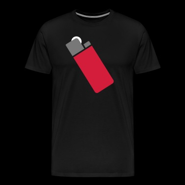 lighter - Herre premium T-shirt