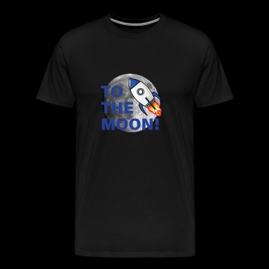 Crypto to the Moon 2 - Men's Premium T-Shirt