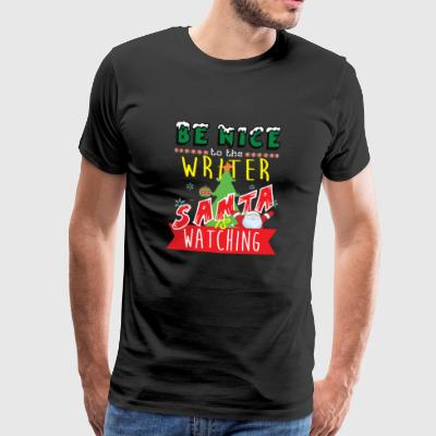 Writer Christmas Gift Idea - Camiseta premium hombre
