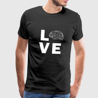 Love Brain - Männer Premium T-Shirt