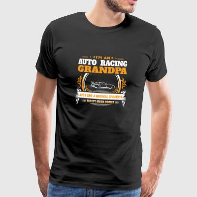 Auto Racing Grandpa Shirt Idea de regalo - Camiseta premium hombre