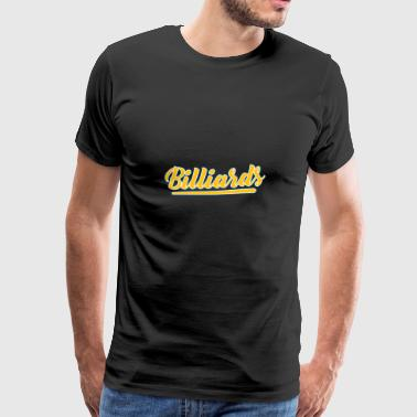 The Billiard skjorte - Premium T-skjorte for menn