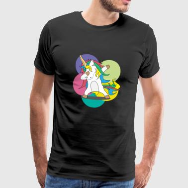 Dabbing Unicorn / Swag / Unicorn / Gift Shirt - Men's Premium T-Shirt