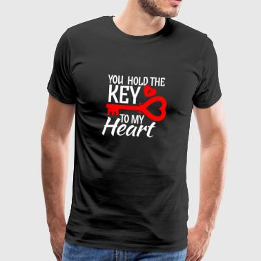 I love you gift - key - shirt - Men's Premium T-Shirt
