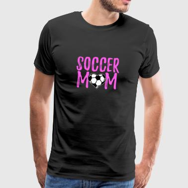 Football Mom gaver - Premium T-skjorte for menn