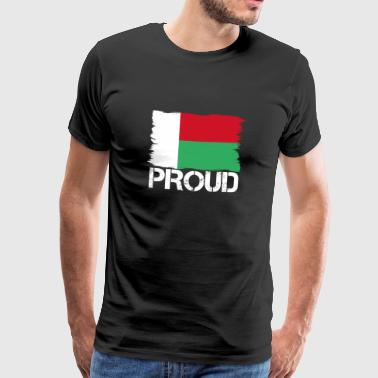 Pride flag flag home origin Madagascar png - Men's Premium T-Shirt