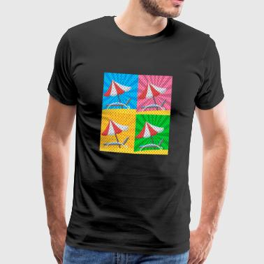 Pop Art - Mannen Premium T-shirt