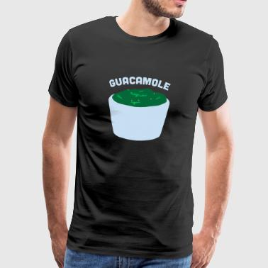 Guacamole Avocado Funny Cinco De Mayo Mexican - Men's Premium T-Shirt
