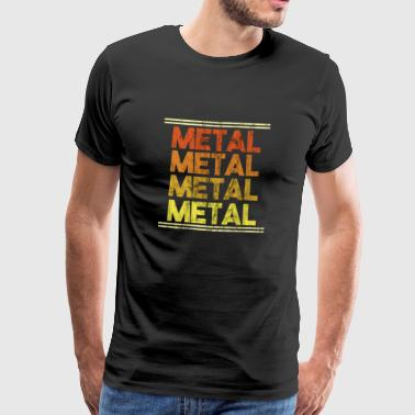 Metal Music Shirt - Gift - Men's Premium T-Shirt