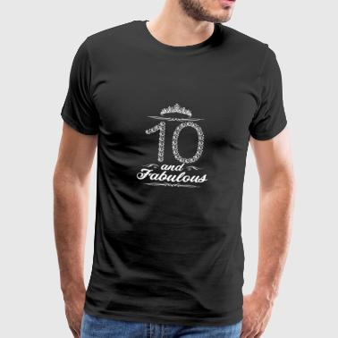 10th birthday 10 years gift - Men's Premium T-Shirt