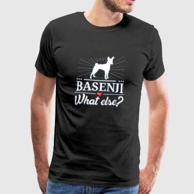 Basenji what else? - Männer Premium T-Shirt