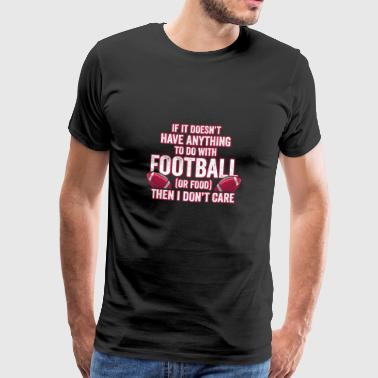 American Football Shirt for footballfans shirt - Männer Premium T-Shirt