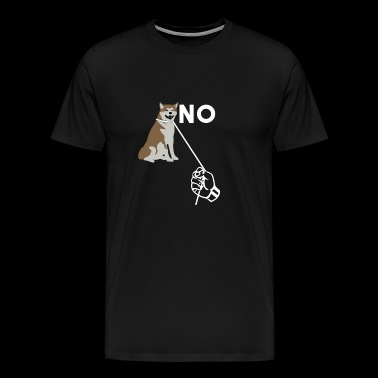 No To Dog Abuse - Men's Premium T-Shirt