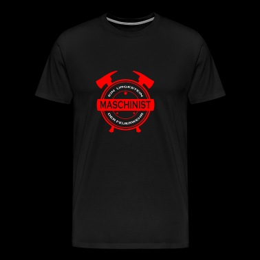 Fire brigade machine operator - Men's Premium T-Shirt
